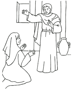 coloring pages childrens sermon - photo#21