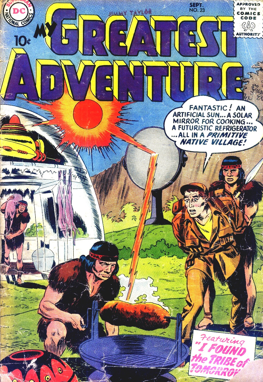 My Greatest Adventure (1955) 23 Page 1