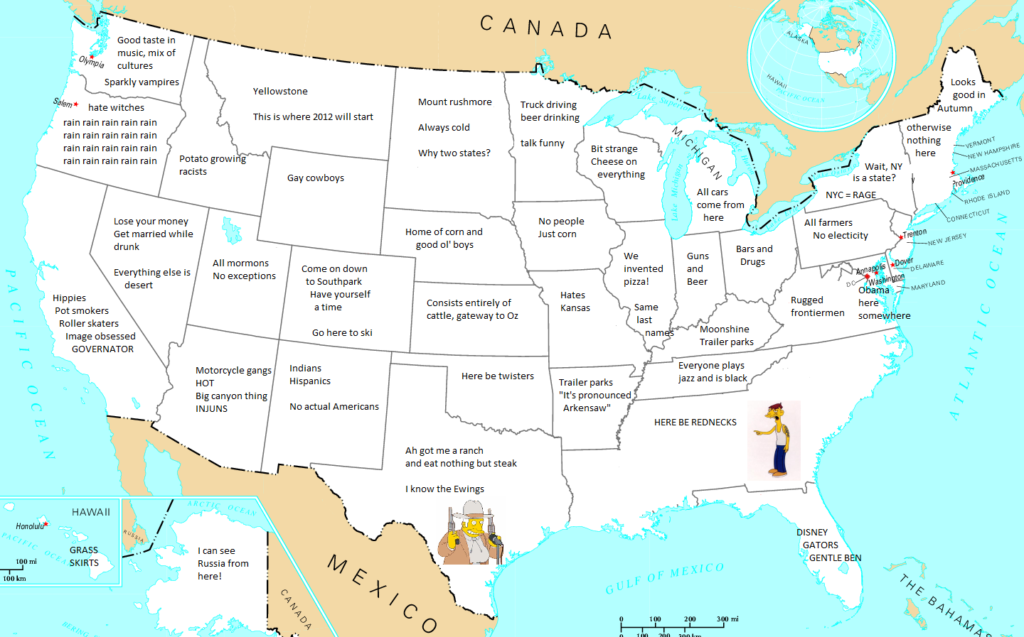 how europe sees america map How Europe Sees America – The American Catholic