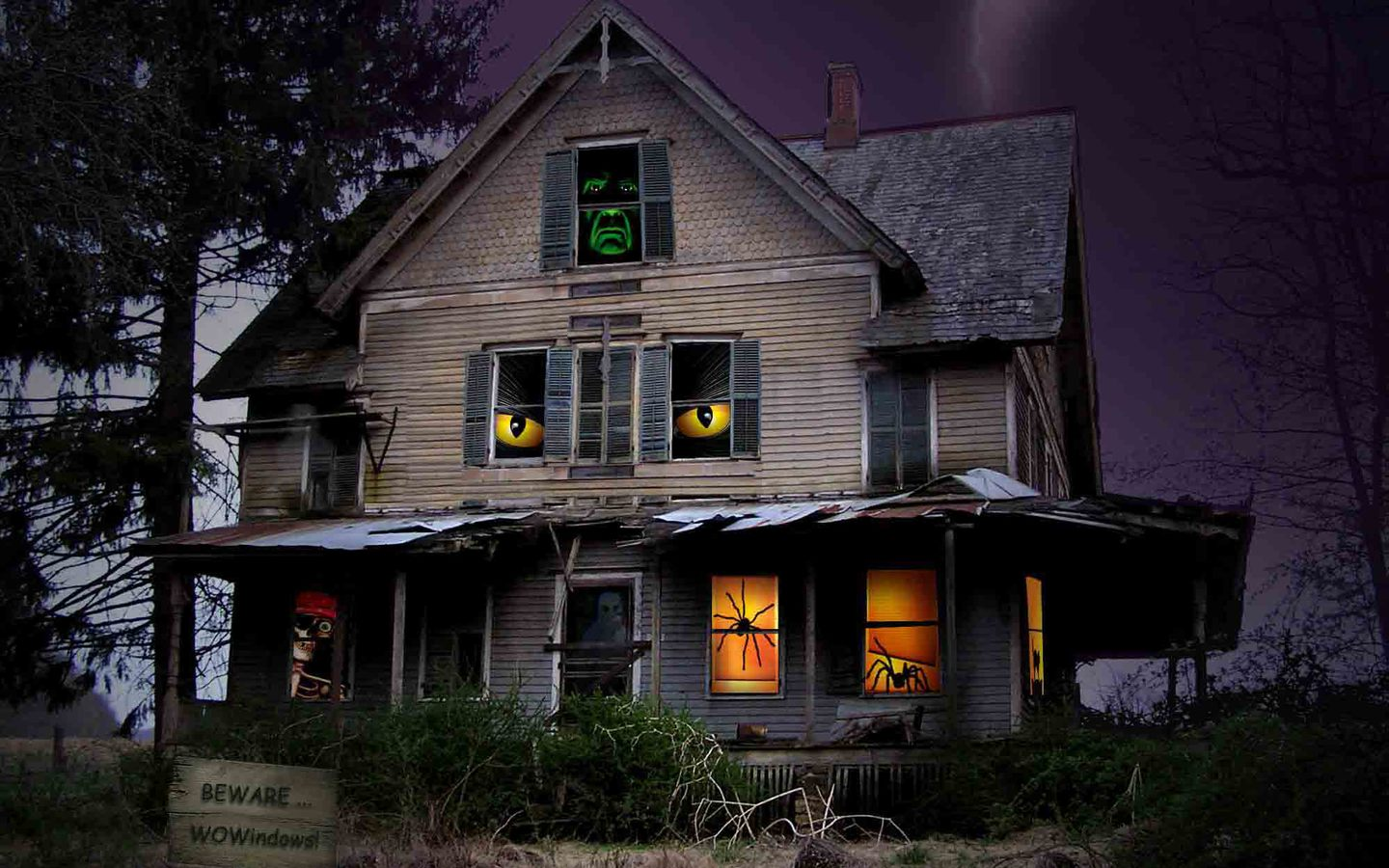 Beautiful Girl Kissing Wallpapers Horror Ghost Houses Wallpapers Hq Image Size 1440x900