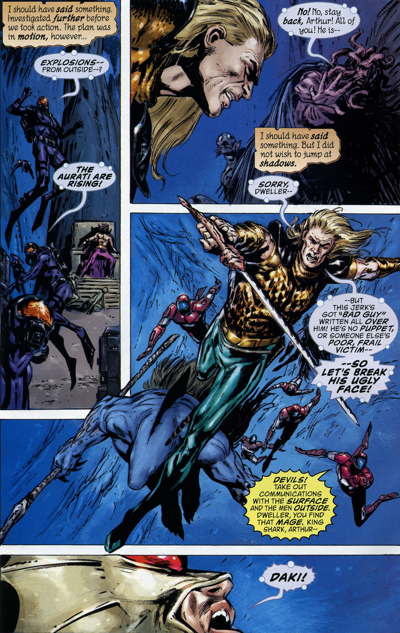 Read online Aquaman: Sword of Atlantis comic -  Issue #44 - 18