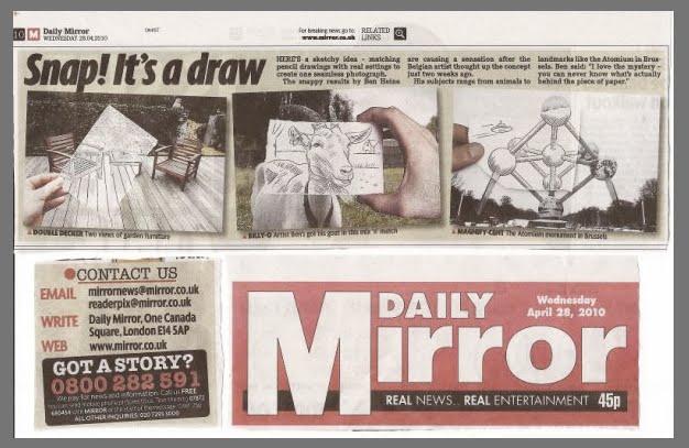 Daily Mirror On Flipboard By Daily Mirror: Ben Heine Art And Music Blog: June 2010