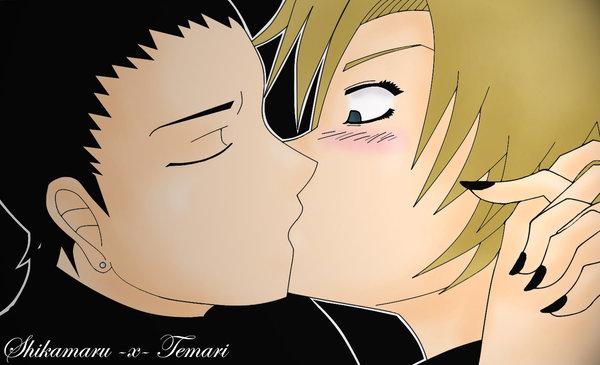 Naruto Temari And Shikamaru Kiss   www.imgkid.com - The ...