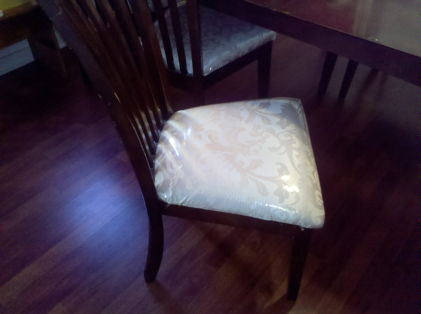 How To Protect Your Fabric Dining Room Chairs {A Lazy Mom