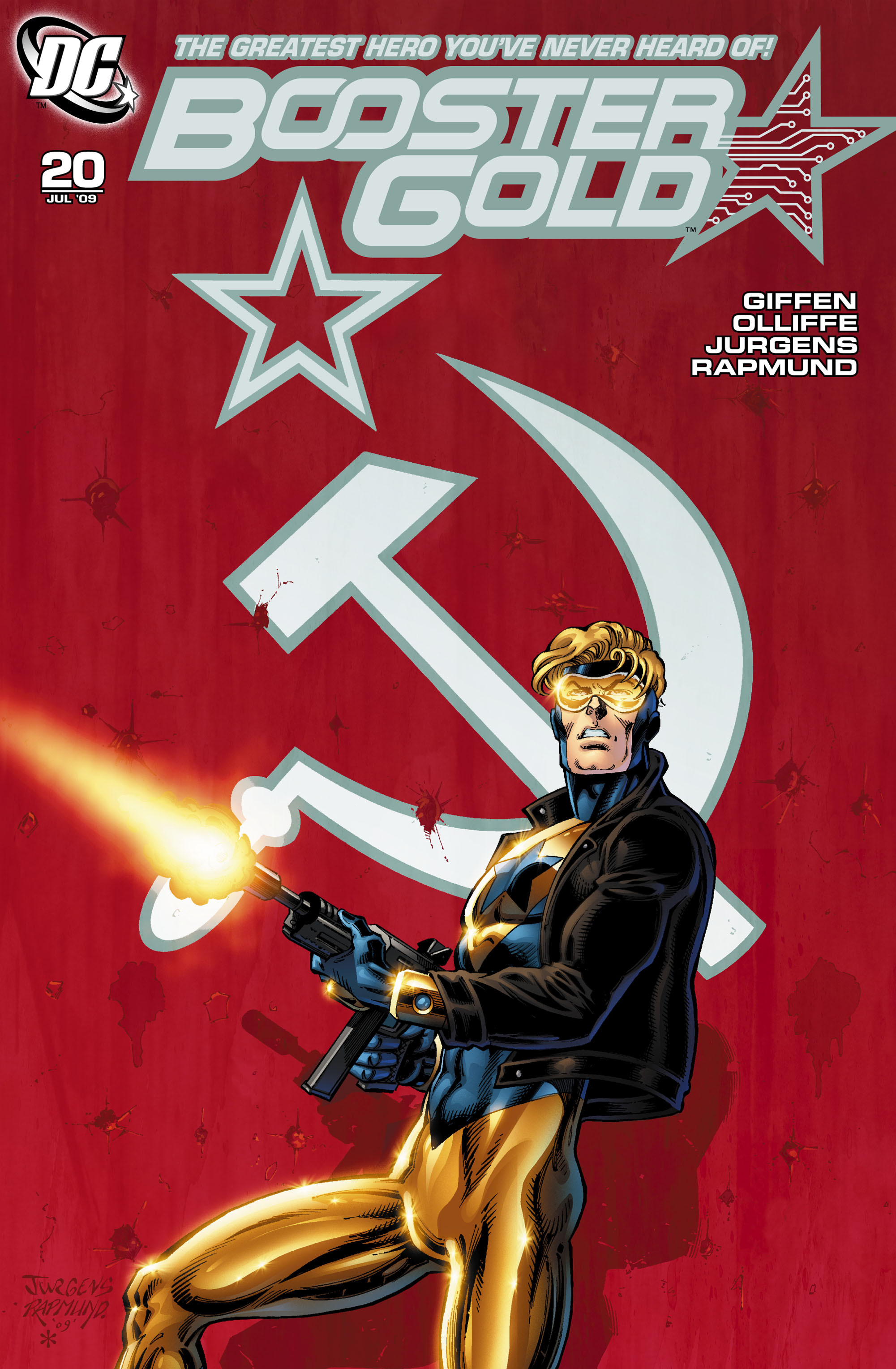 Booster Gold 2007 Issue 20