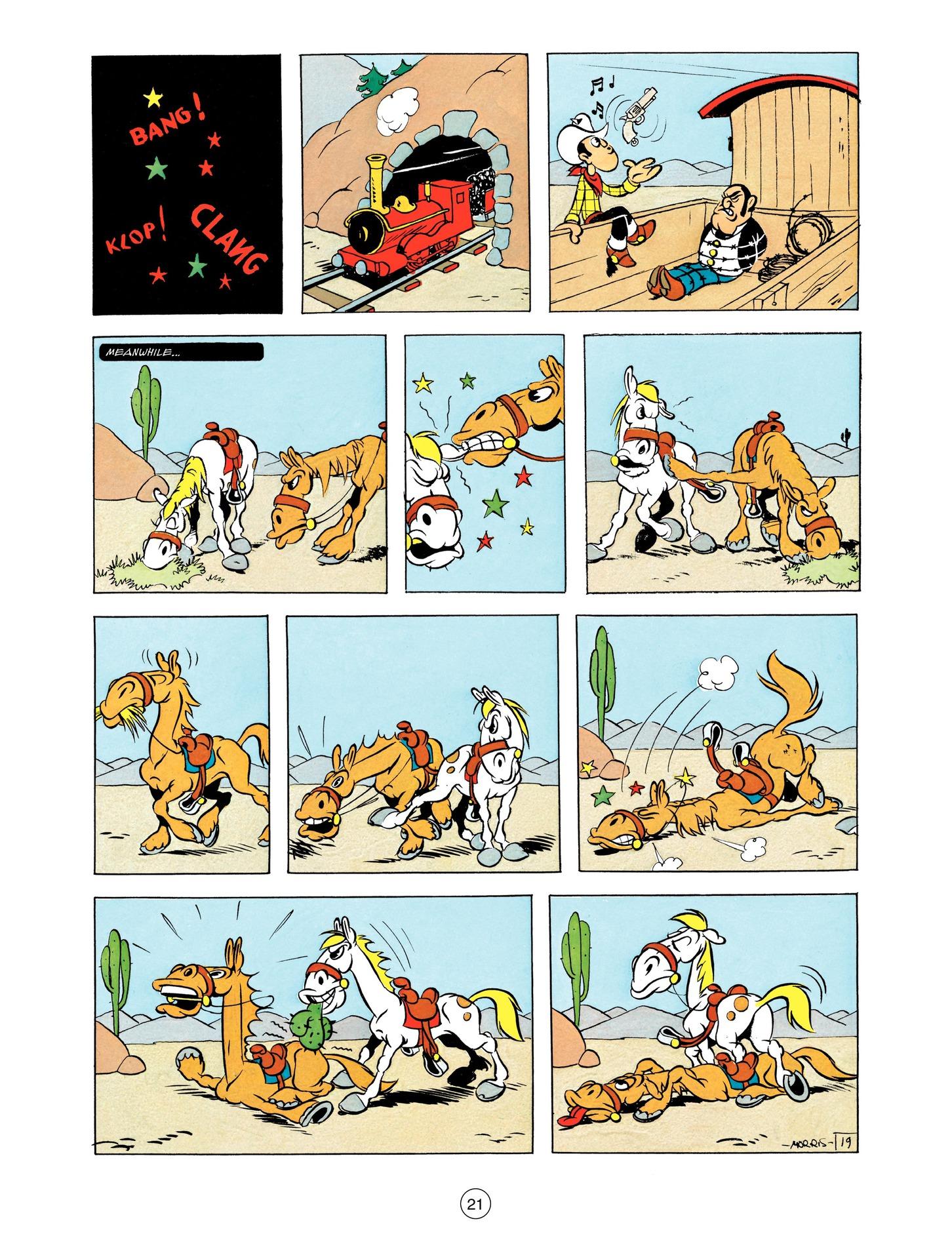 Read online A Lucky Luke Adventure comic -  Issue #55 - 21