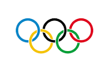 The Five Olympic rings of Olympics