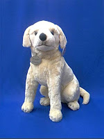life size yellow lab puppy plush stuffed animal toy