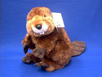 beaver plush stuffed animal builder