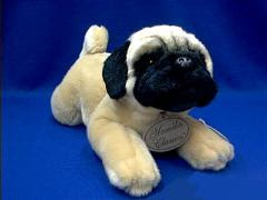 pug plush stuffed animal classic