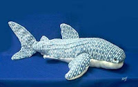 large whale shark plush stuffed animal