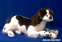large springer spaniel plush stuffed animal