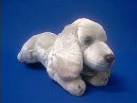 Weimaraner plush Stuffed Animal Small Classic