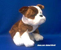 bulldog plush stuffed animal Hardy