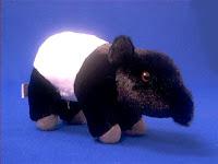 tapir plush stuffed animal toy