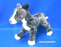 greyhound plush stuffed animal racer