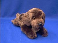 Large Oversize Chocolate Lab Plush Stuffed Animal Dog Toys Animal