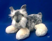 schnauzer plush stuffed animal ludwig