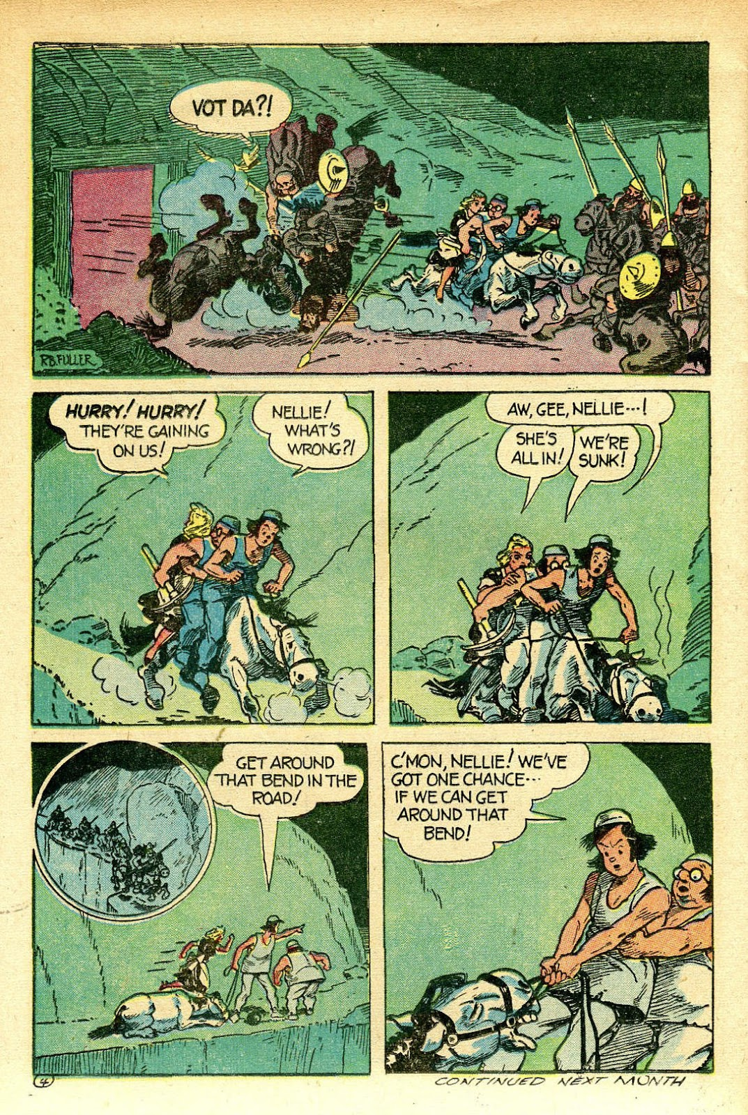 Read online Famous Funnies comic -  Issue #129 - 38