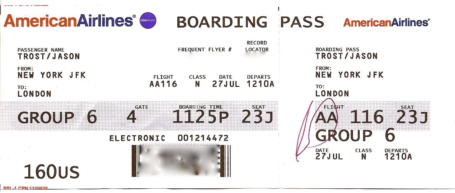 Aeroplane Ticket Template blank airline airline making fake – Airplane Ticket Template