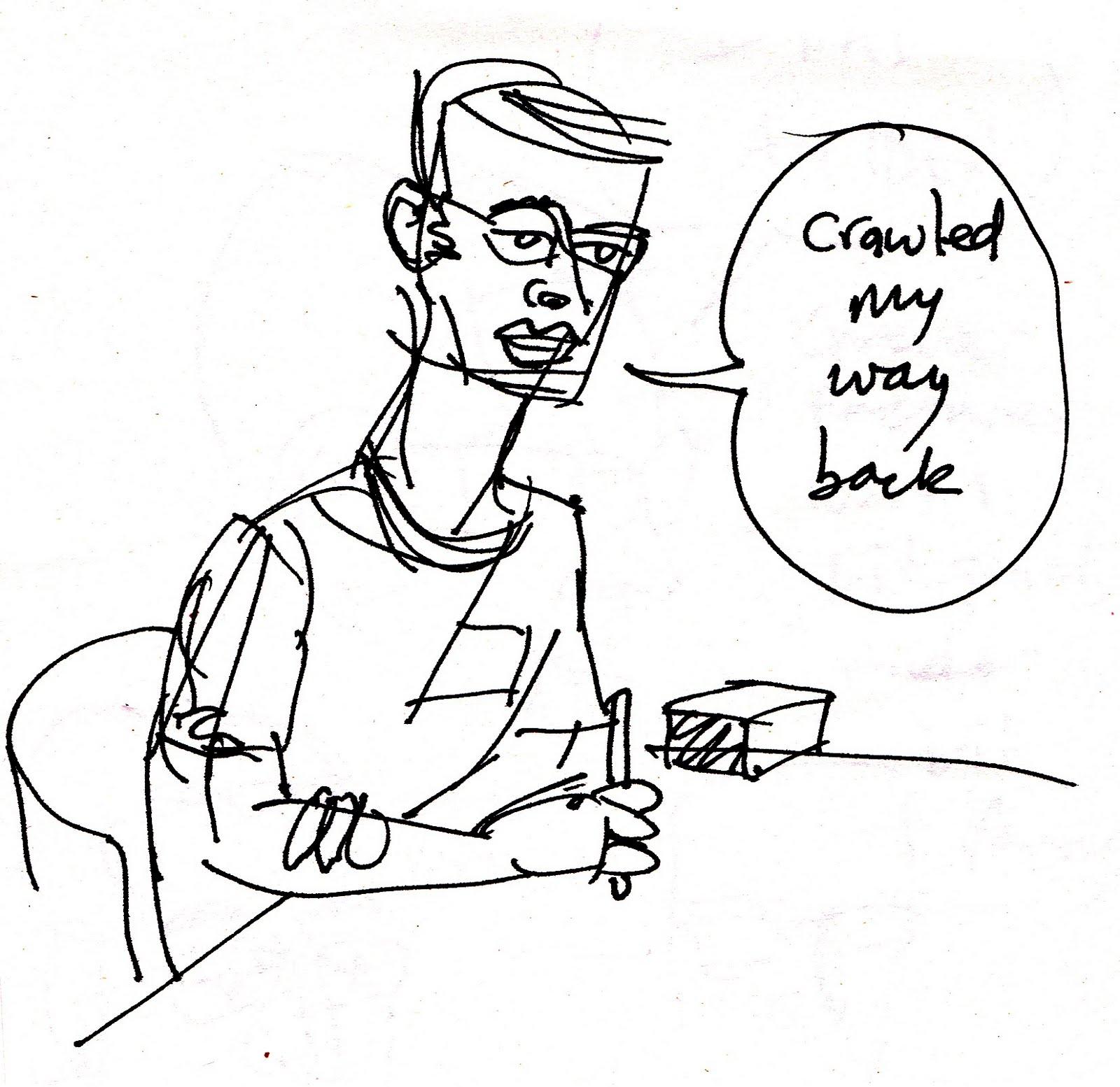 an island art: Comics Masterclass, Monday: Writing