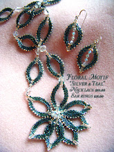 Teal/Silvery Spring Creations