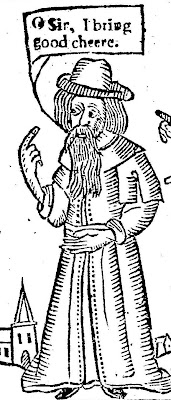 Image result for father christmas seventeenth century