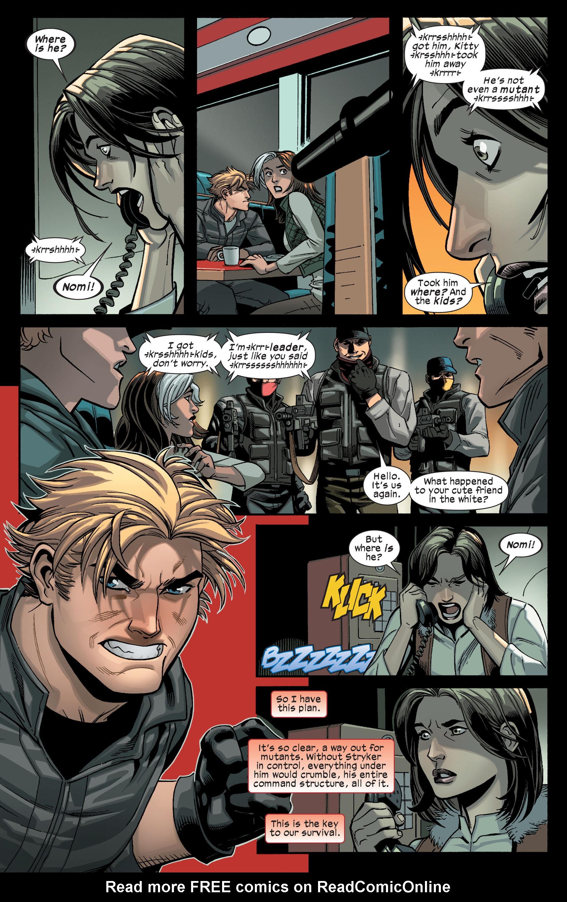 Read online Ultimate Comics X-Men comic -  Issue #14 - 23