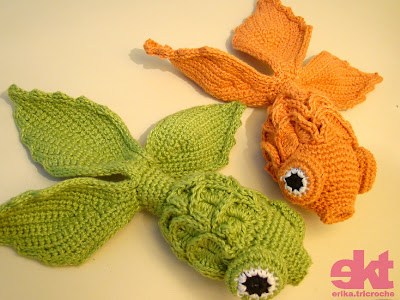 Crochet Baby Teether Bubbles and Goldfish Pattern - Crochet News | 300x400