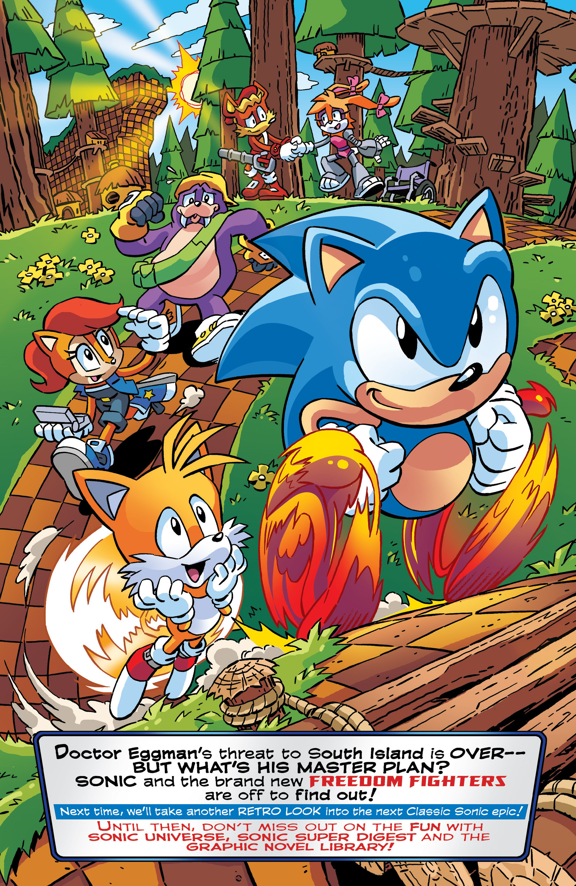 Read online Sonic The Hedgehog comic -  Issue #288 - 22
