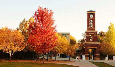 College Of Eastern Utah >> Snow College President: Autumn Color at Snow College!