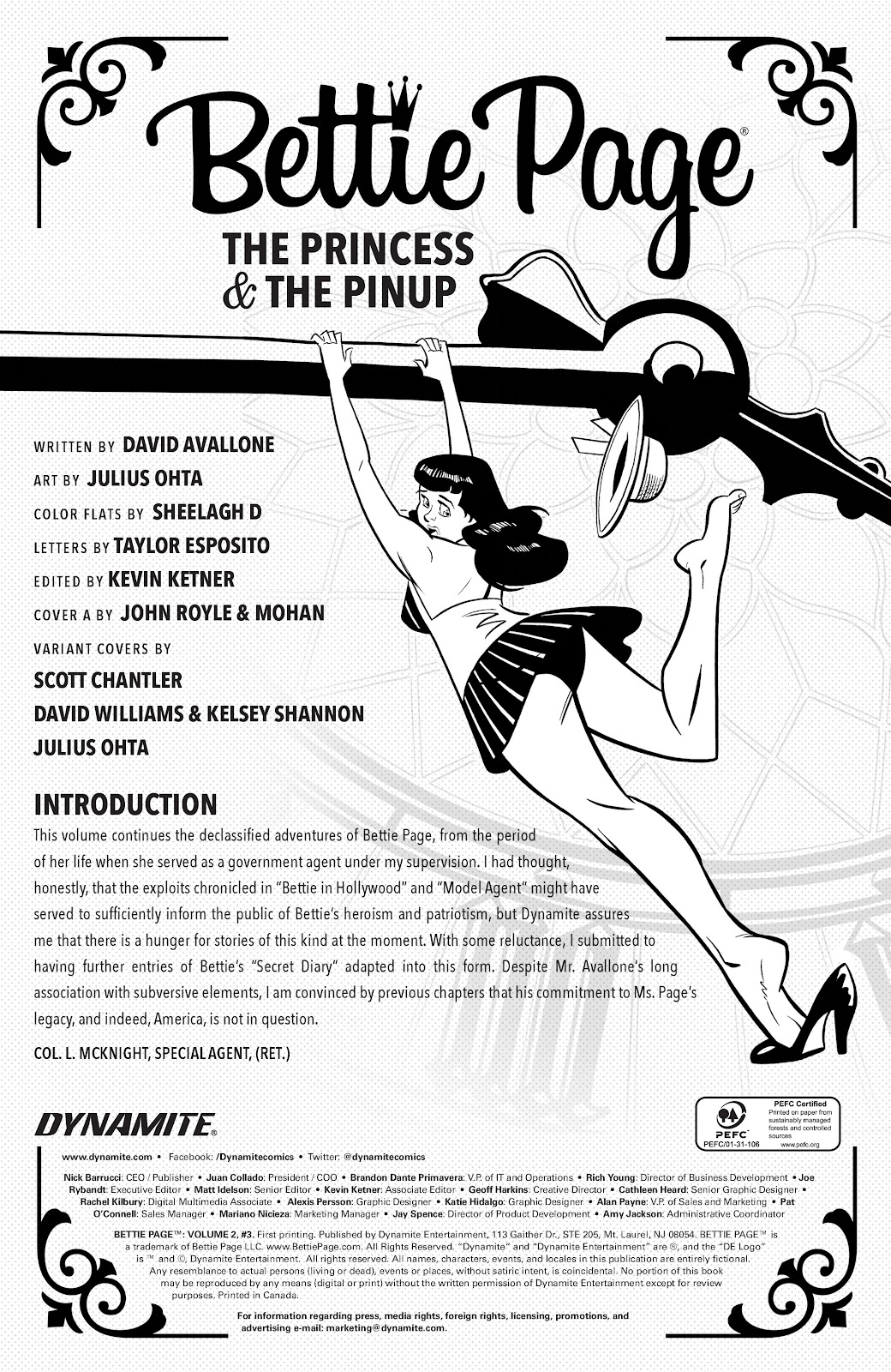 Read online Bettie Page (2018) comic -  Issue #3 - 6