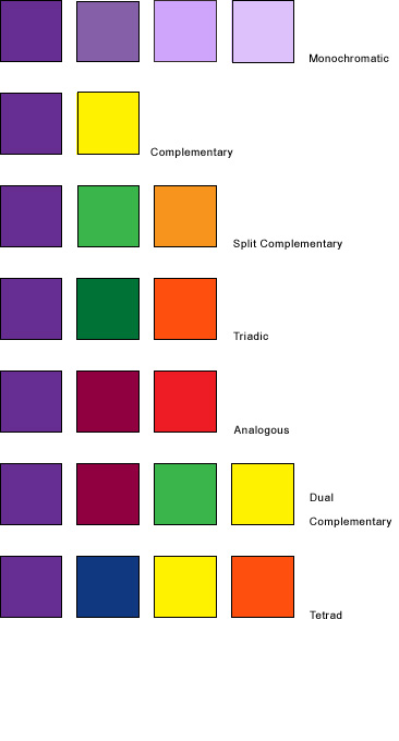 Por Complimentary Colors That Go With Purple Are Yellow And Green The Following Some Other Suggested Color Combinations