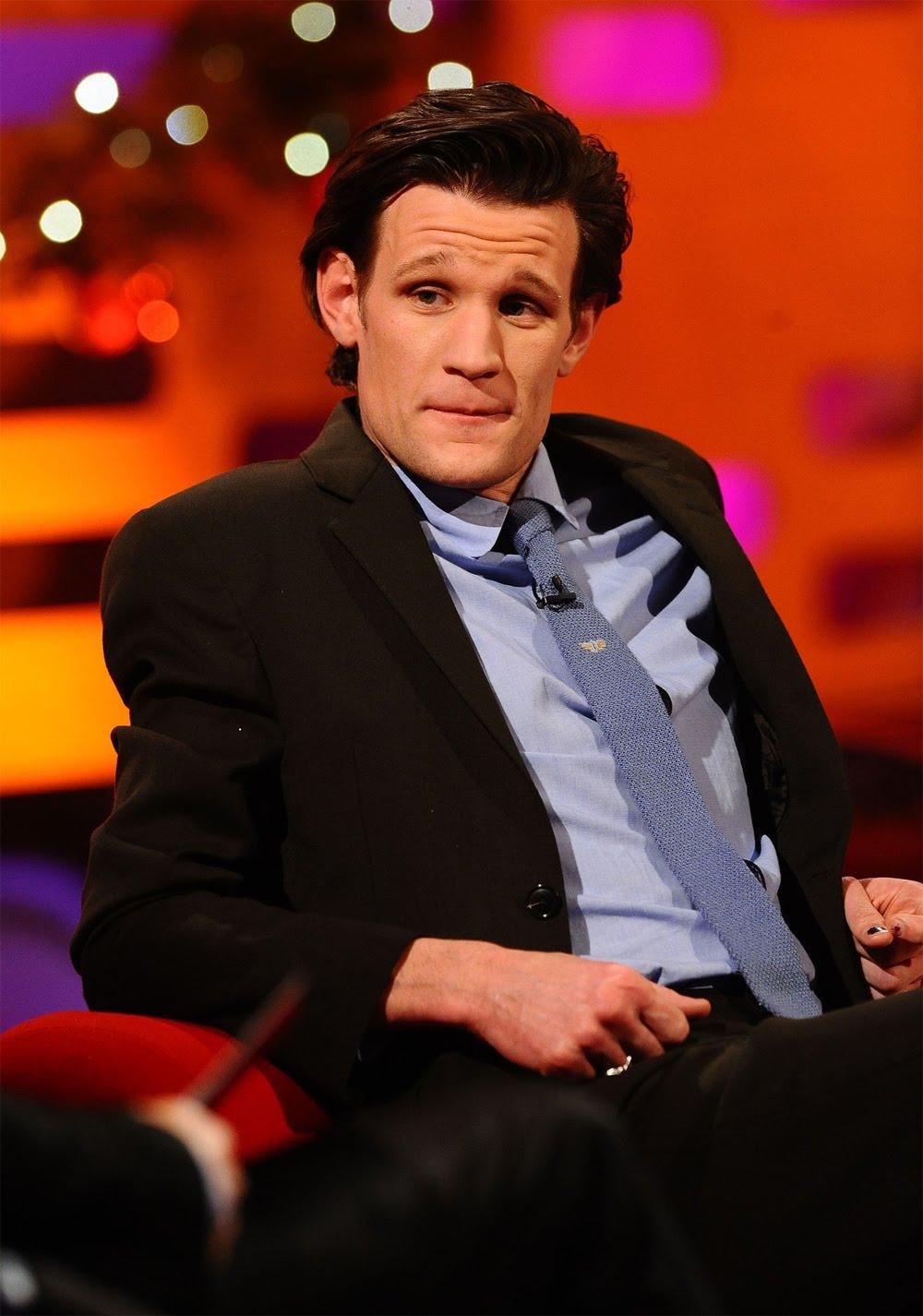 "Blogtor Who: Matt Smith on ""The Graham Norton Show"""