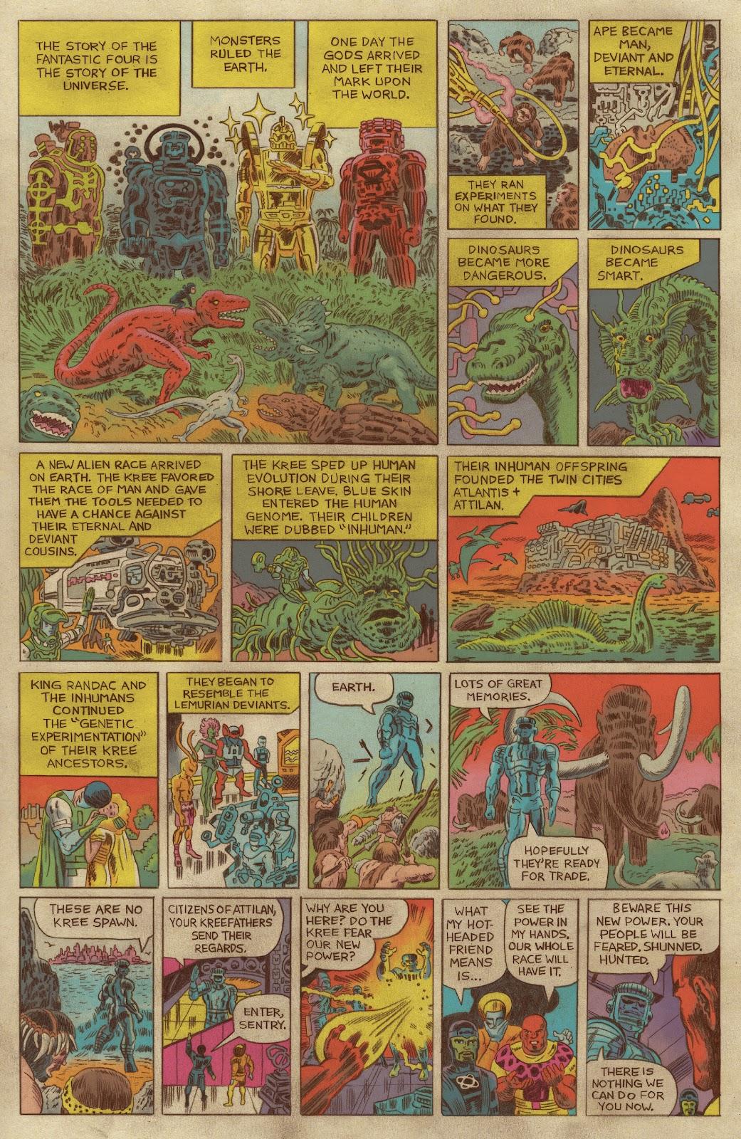 Read online Fantastic Four: Grand Design comic -  Issue #1 - 5