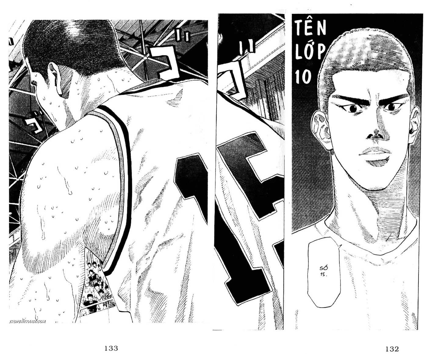 Slam Dunk chap 187 trang 3