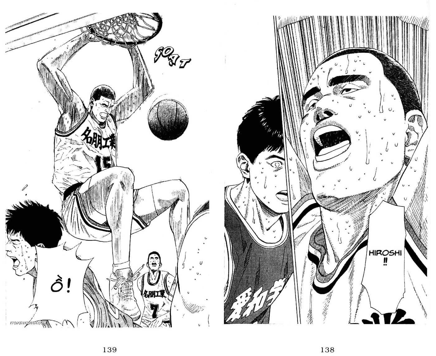 Slam Dunk chap 187 trang 8