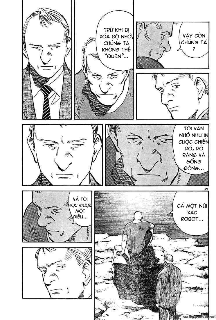 Pluto chapter 10 trang 21