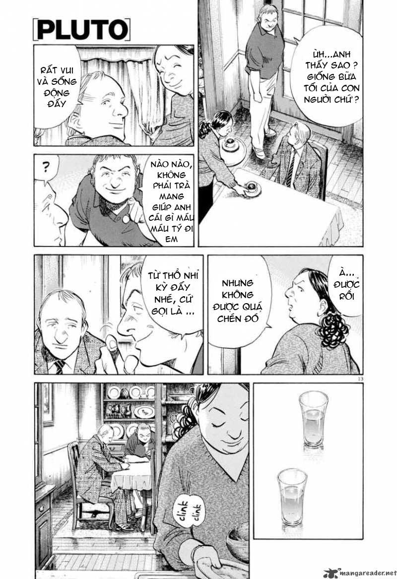 Pluto chapter 7 trang 14