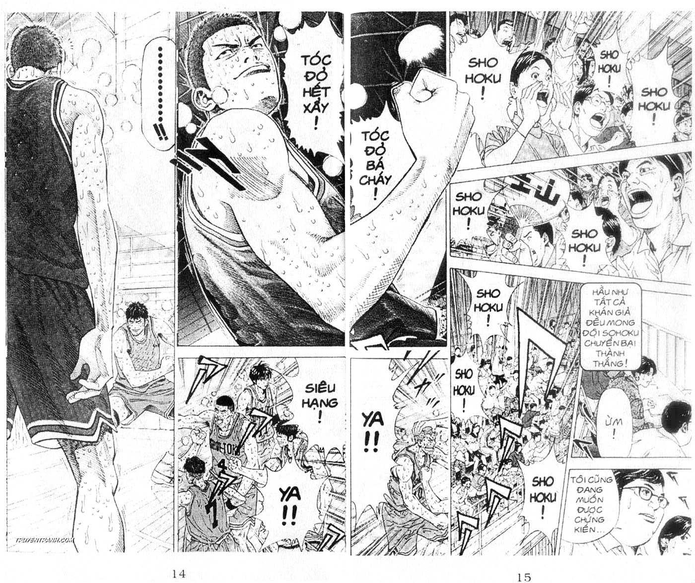 Slam Dunk chap 272 trang 8