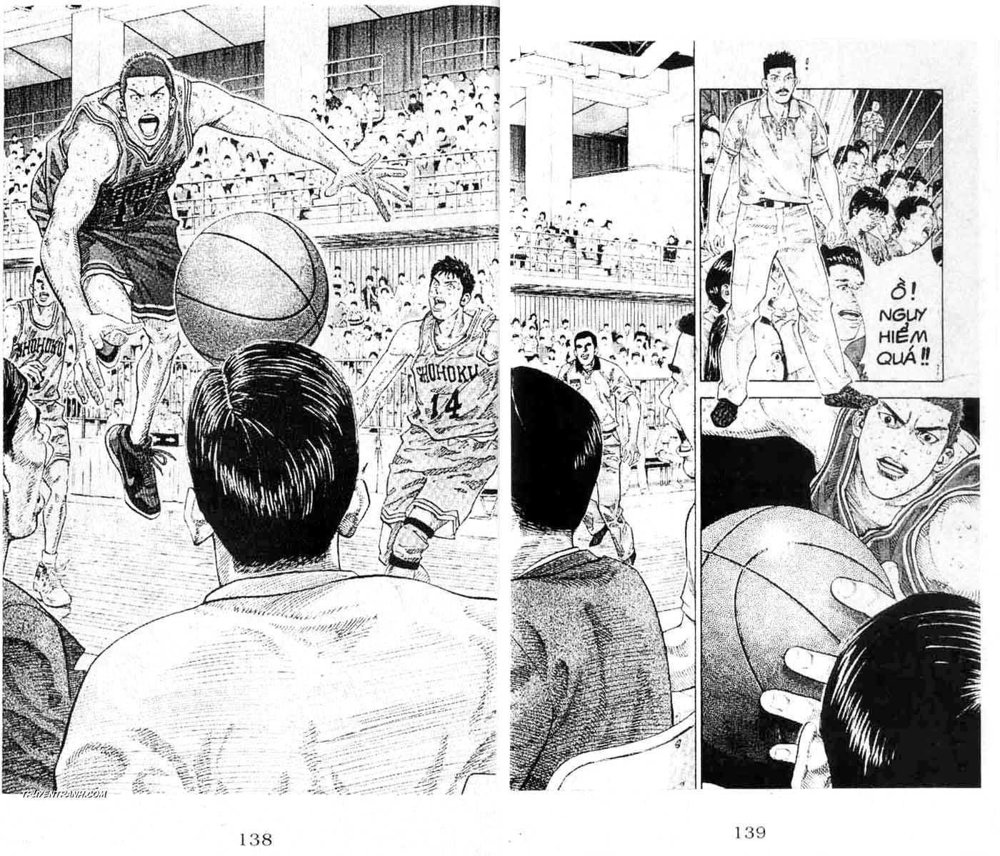 Slam Dunk chap 264 trang 10