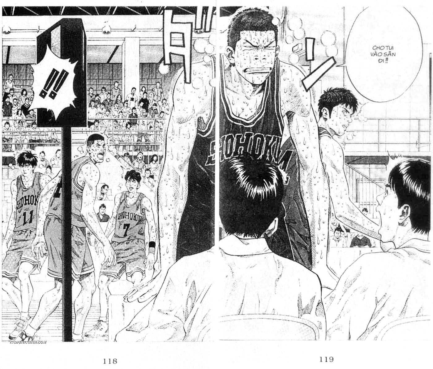 Slam Dunk chap 270 trang 6