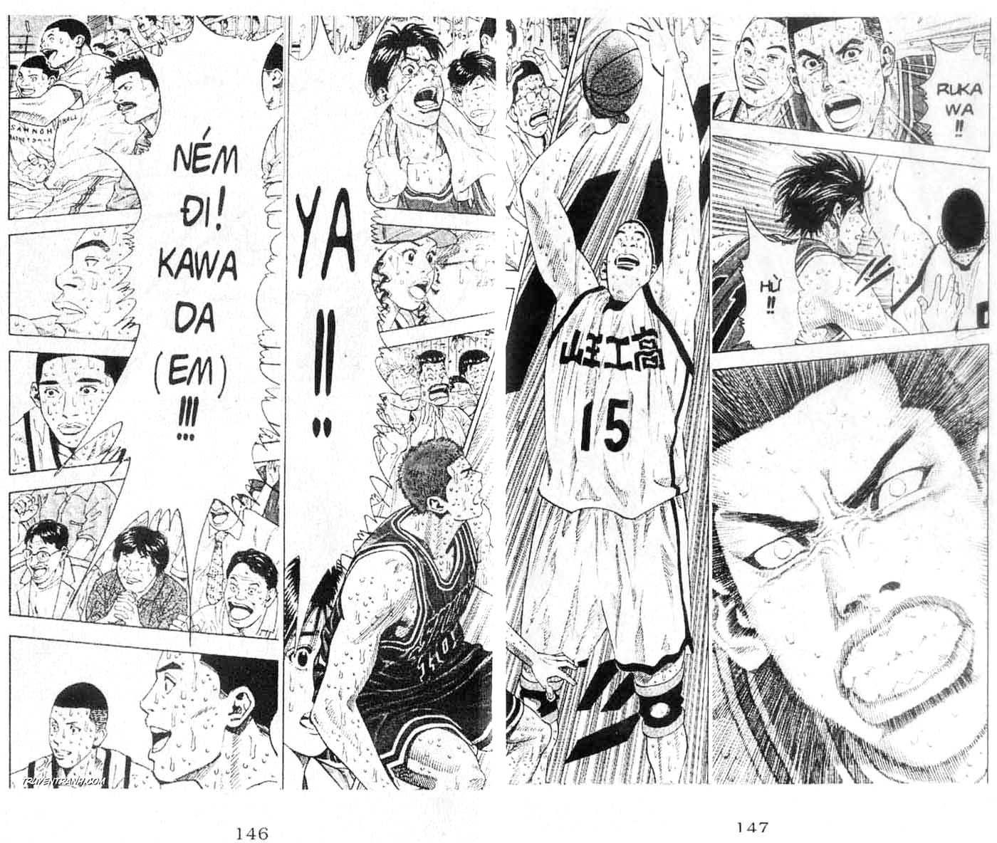 Slam Dunk chap 271 trang 12