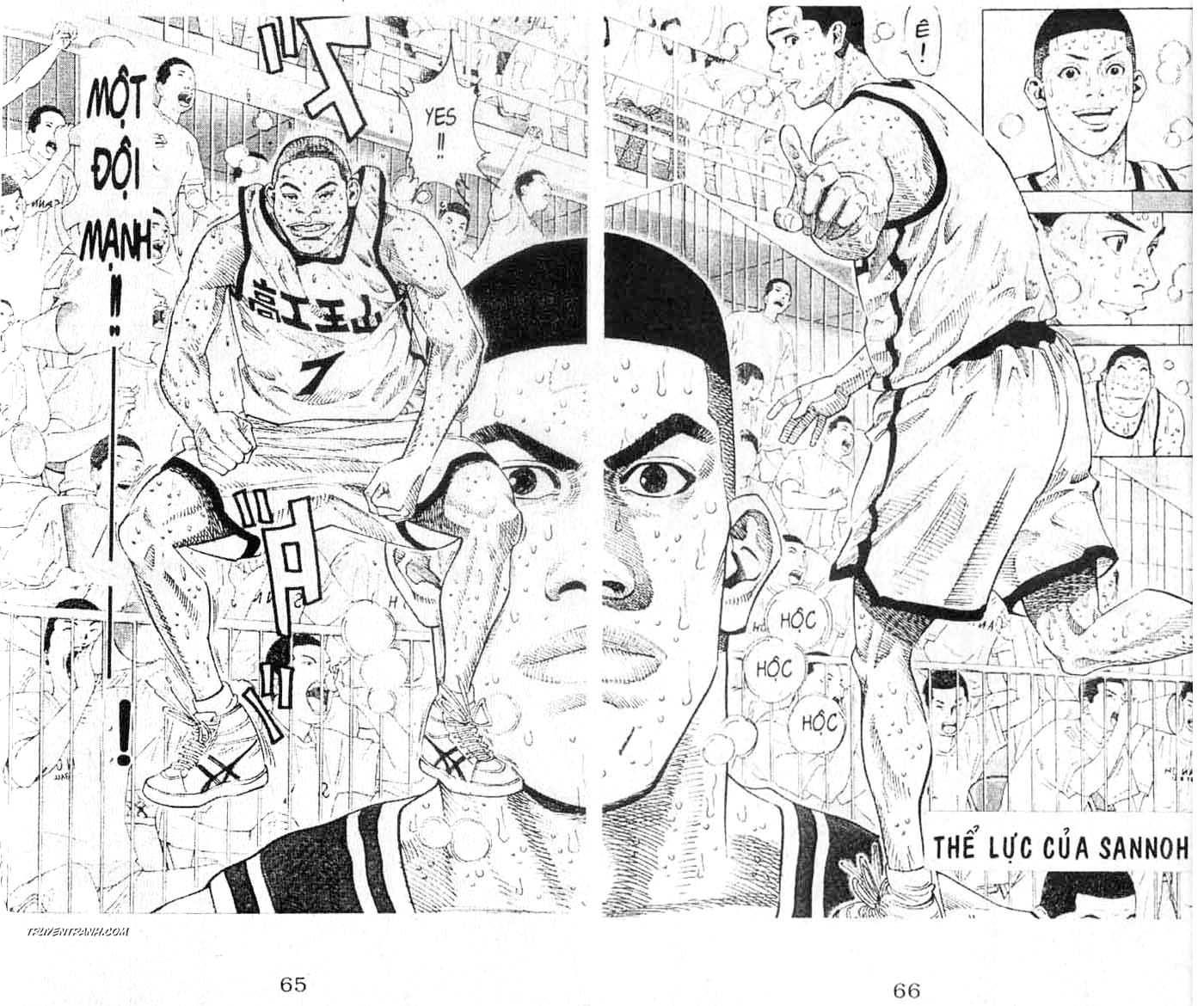 Slam Dunk chap 268 trang 2