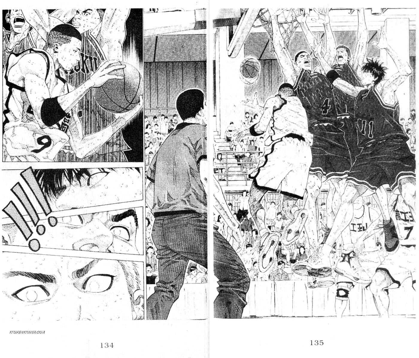Slam Dunk chap 256 trang 10