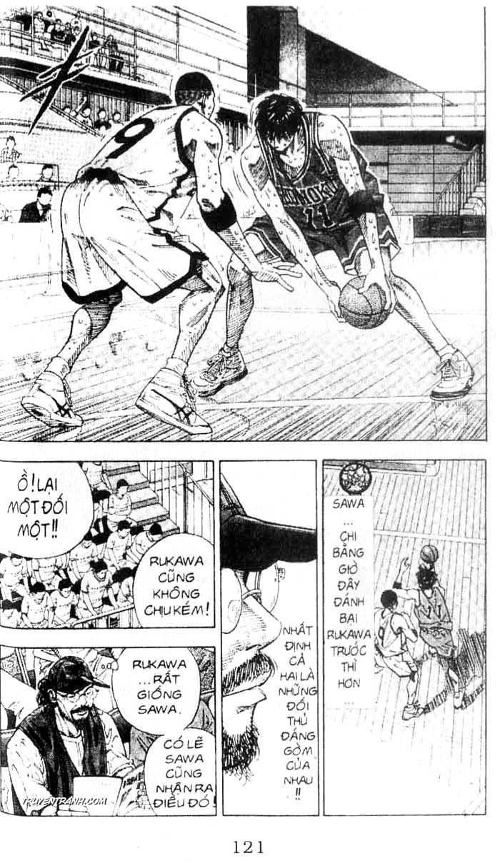 Slam Dunk chap 255 trang 16