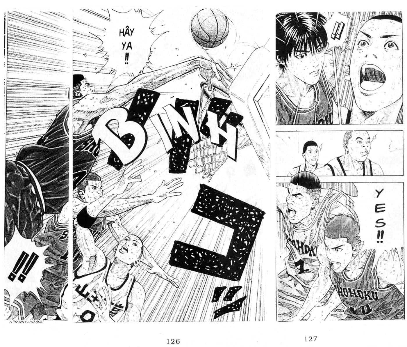 Slam Dunk chap 263 trang 18