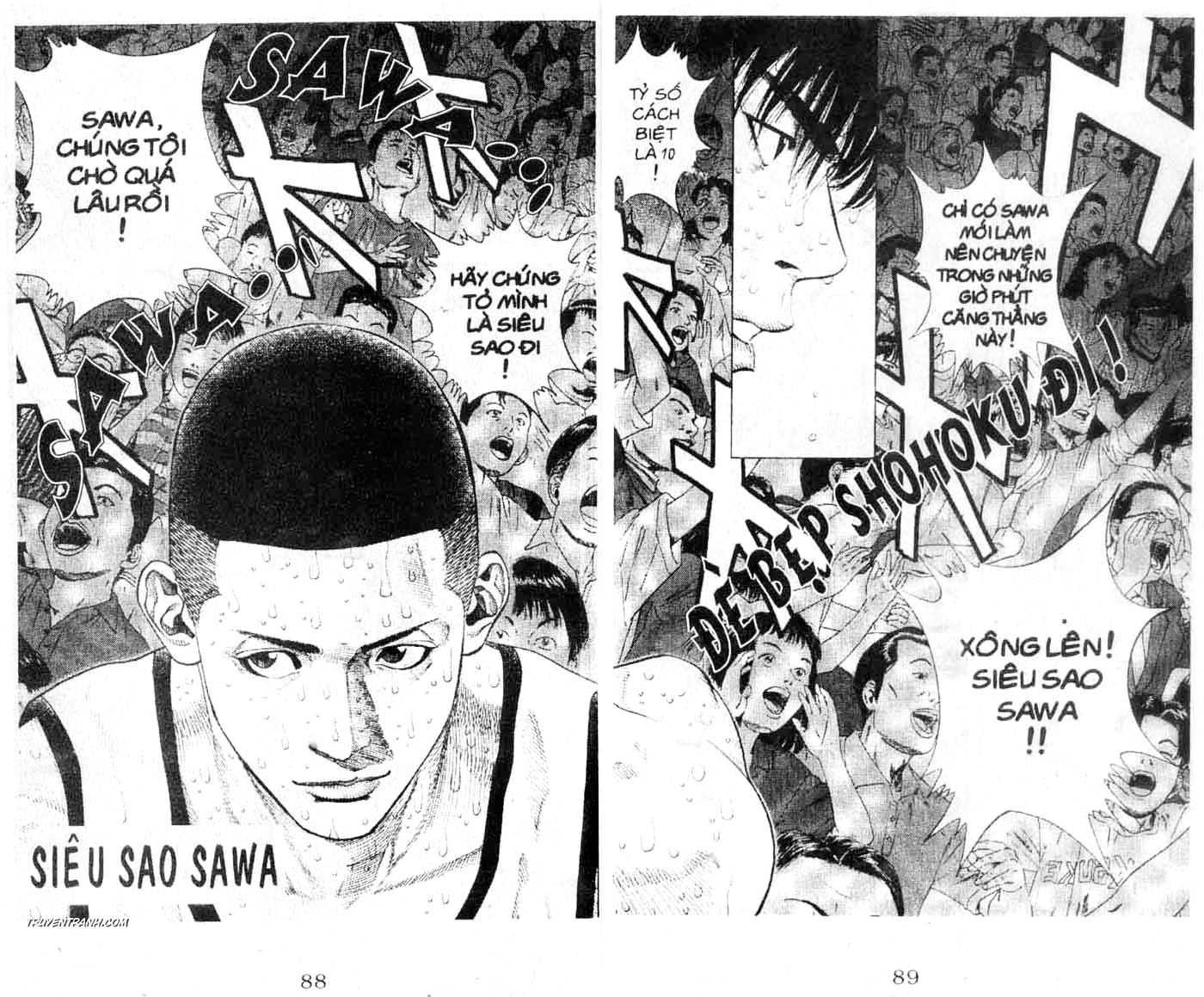 Slam Dunk chap 254 trang 2
