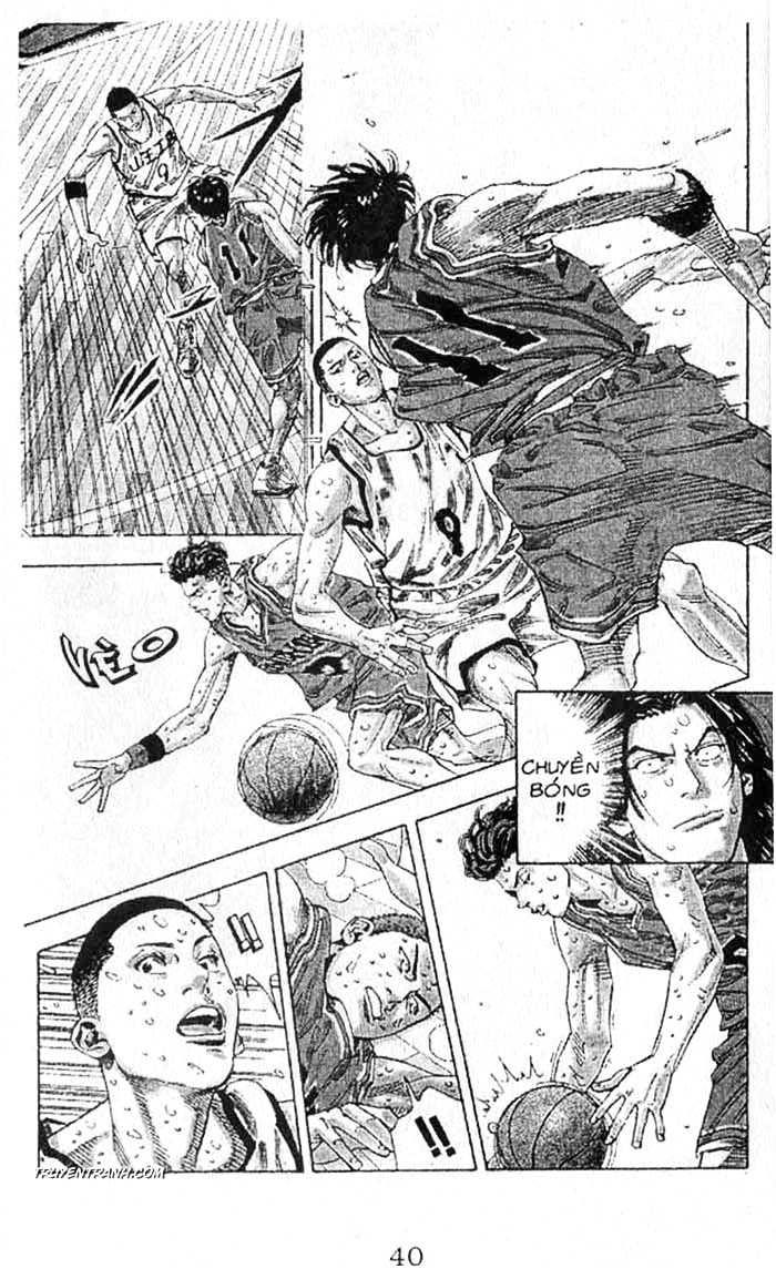 Slam Dunk chap 259 trang 10