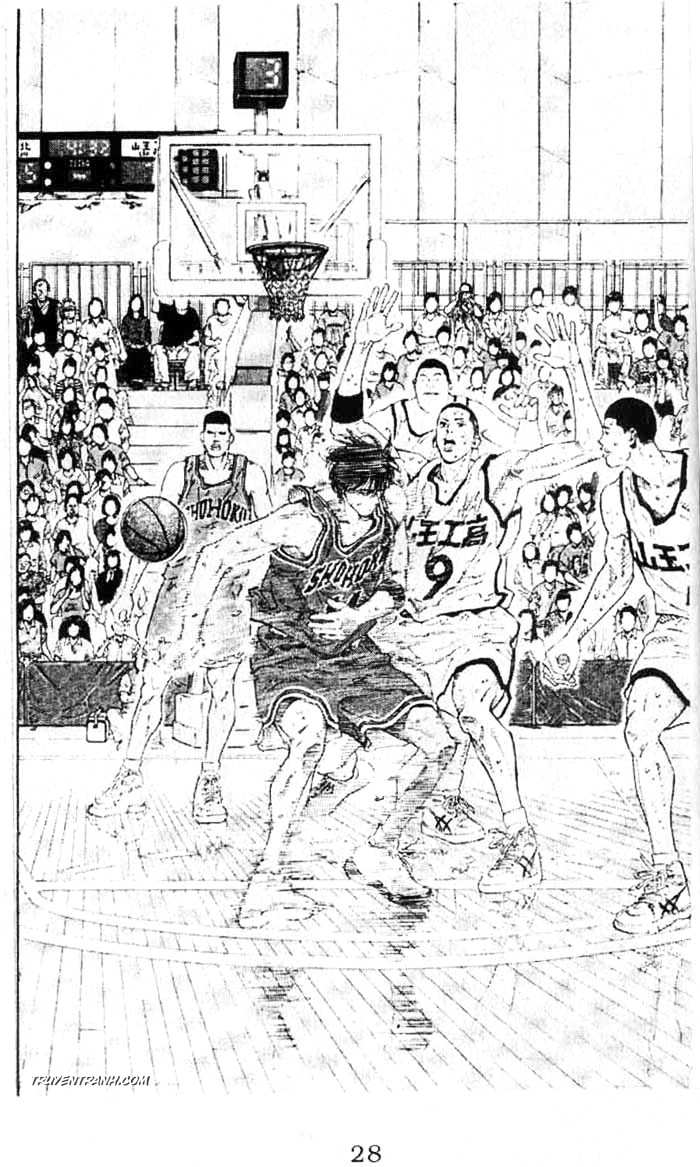 Slam Dunk chap 258 trang 18